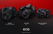 Canon 17 năm dẫn đầu thị trường máy ảnh kĩ thuật số dùng ống kính chuyển đổi