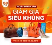 Hơn 900 thương hiệu hàng đầu tham gia khuyến mãi  9.9  tại Shopee