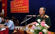 Phó Chủ tịch Quốc hội Đỗ Bá Tỵ tiếp xúc cử tri tại huyện Bát Xát, Lào Cai