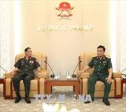 Tăng cường hợp tác, làm sâu sắc hơn mối quan hệ giữa Bộ Quốc phòng Việt Nam - Lào