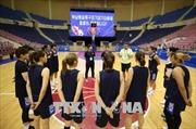 Truyền thông Triều Tiên đưa tin về giao hữu bóng rổ liên Triều