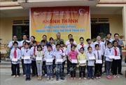 Khánh thành trường mới cho học sinh vùng lũ Trạm Tấu trước thềm năm học