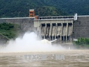Thủy điện Sơn La mở cửa xả đáy lần thứ hai trong năm