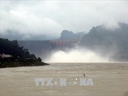 Chủ động các biện pháp đảm bảo an toàn khi xả lũ trên hồ Hòa Bình