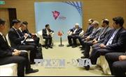 Bộ trưởng Ngoại giao Phạm Bình Minh hội đàm với người đồng cấp Nhật Bản và Iran