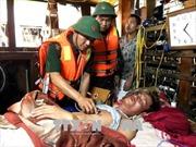 Nỗ lực tìm kiếm 3 thuyền viên mất tích trong vụ đắm tàu tại đảo Cô Tô