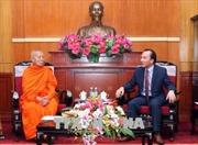 Phật giáo Việt Nam và Lào tăng cường hợp tác
