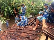 Ứng phó với bão số 4: Quân đội sẵn sàng lực lượng hỗ trợ nhân dân
