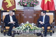 Phó Thủ tướng, Bộ trưởng Phạm Bình Minh hội kiến với Thủ tướng Sri Lanka