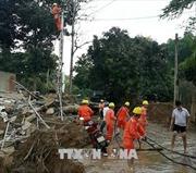 Hoàn thành khắc phục sự cố điện do cơn bão số 3 tại Phú Thọ