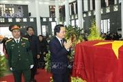 Đoàn đại biểu các Bộ, ngành viếng Chủ tịch nước Trần Đại Quang