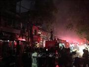 Khởi tố điều tra vụ cháy làm 2 người tử vong trên đường Đê La Thành