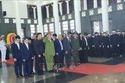 Đoàn đại biểu các tỉnh, thành về viếng Chủ tịch nước Trần Đại Quang