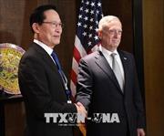 Bộ trưởng Quốc phòng Hàn Quốc, Mỹ thảo luận về kết quả thượng đỉnh liên Triều