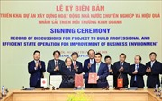 Văn phòng Chính phủ và JICA hợp tác xây dựng chính phủ điện tử