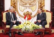 Phó Thủ tướng Thường trực Trương Hòa Bình tiếp Phó Thủ tướng Singapore