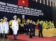 Lễ truy điệu nguyên Tổng Bí thư Đỗ Mười tại Nhà tang lễ Quốc gia