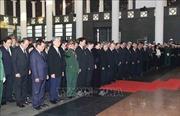 Trên 1.500 đoàn trong nước, quốc tế đến viếng nguyên Tổng Bí thư Đỗ Mười
