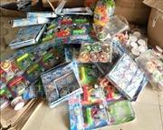 Bắt giữ lô hàng đồ chơi trẻ em nhập lậu ở Móng Cái, Quảng Ninh