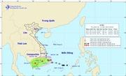 Áp thấp nhiệt đới vào vùng biển Nam Trung Bộ, gây mưa to đến rất to