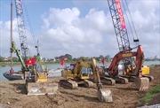 Xây dựng đập ngăn mặn sông Hiếu tại Quảng Trị