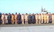 6 nước tập trận hải quân chung ở Biển Đỏ