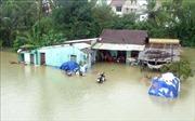Tiếp tục mưa to, nhiều tuyến đường ở Quảng Nam như sông