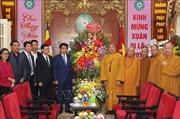 Chủ tịch UBND thành phố Hà Nội chúc Tết Giáo hội Phật giáo Việt Nam