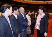 Chủ tịch Quốc hội gặp mặt nguyên lãnh đạo Quốc hội và cán bộ hưu trí Văn phòng Quốc hội