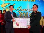 Đại tướng Ngô Xuân Lịch dự Chương trình 'Tết sum vầy năm 2019' tại Hà Nam