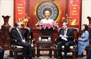 Bí thư Thành ủy TP Hồ Chí Minh Nguyễn Thiện Nhân tiếp Đại sứ Trung Quốc