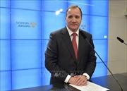 Điện mừng Thủ tướng Thụy Điển tái đắc cử