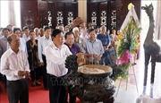 Dâng hương tưởng niệm 31 năm ngày mất Chủ tịch Hội đồng Bộ trưởng Phạm Hùng