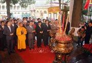 Dâng hương tưởng nhớ các bậc tiên đế, hiền tài tại Hoàng thành Thăng Long