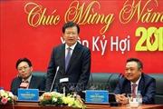 Phó Thủ tướng Trịnh Đình Dũng chúc Tết tại Tập đoàn Dầu khí Việt Nam