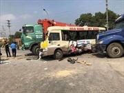 Tai nạn giao thông liên hoàn trên Đại lộ Thăng Long, Hà Nội