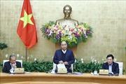 Thủ tướng chủ trì phiên họp Chính phủ chuyên đề về xây dựng luật