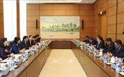 Trao đổi kinh nghiệm nâng cao năng lực bộ máy giúp việc Quốc hội Việt Nam - Campuchia