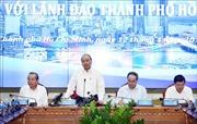 Thủ tướng Nguyễn Xuân Phúc làm việc với lãnh đạo TP Hồ Chí Minh