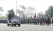 Kết thúc huấn luyện thực địa giữa quân đội Ấn Độ và 17 nước châu Phi