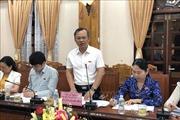 Đoàn giám sát Ủy ban Đối ngoại của Quốc hội làm việc tại tỉnh Bình Định