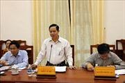 Đoàn công tác Trung ương làm việc với Tỉnh ủy Ninh Thuận về công tác dân tộc