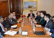 Chủ tịch Quốc hội Nguyễn Thị Kim Ngân hội kiến Chủ tịch Quốc hội Sri Lanka