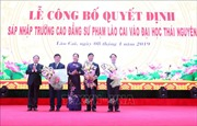 Sáp nhập Trường Cao đẳng sư phạm Lào Cai vào Đại học Thái Nguyên