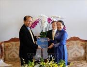 TP Hồ Chí Minh vun đắp tình hữu nghị truyền thống với nhân dân Campuchia
