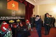 Lễ viếng nguyên Chủ tịch nước Lê Đức Anh tại LB Nga, Singapore và New Zealand