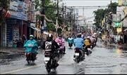 Chiều và tối 19/5, nhiều đợt mưa lớn gây ngập các tuyến đường ở TP Hồ Chí Minh