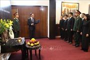 Lễ viếng và mở Sổ tang nguyên Chủ tịch nước Lê Đức Anh tại Ấn Độ