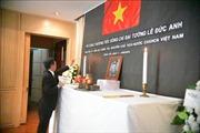 Đại sứ quán Việt Nam tại Thái Lan tổ chức trang trọng lễ viếng và mở Sổ tang nguyên Chủ tịch nước Lê Đức Anh