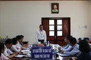 Thứ trưởng Nguyễn Văn Phúc làm việc với Ban Chỉ đạo thi THPT quốc gia thành phố Cần Thơ